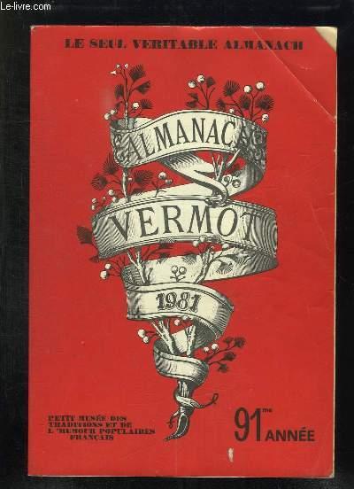 ALMANACH VERMOT 1981.
