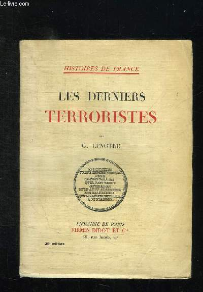 LES DERNIERS TERRORISTES.