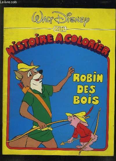 histoire a colorier  robin des bois  walt disney
