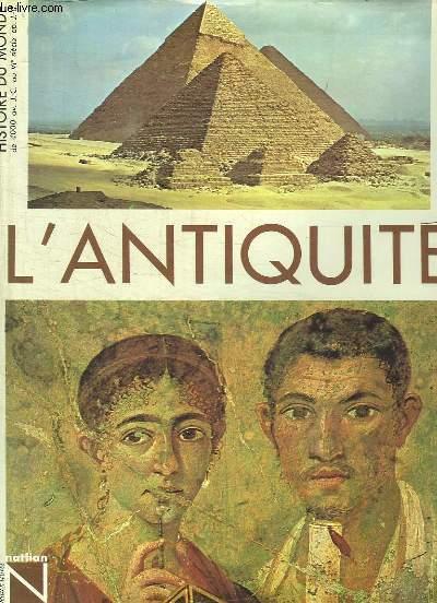 HISTOIRE DE L ANTIQUITE.