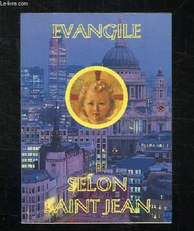 EVANGILE DE JESUS CHRIST SELON SAINT JEAN. 5em EDITION.