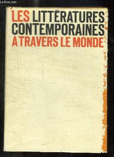 LES LITTERATURES CONTEMPORAINES A TRAVERS LE MONDE.