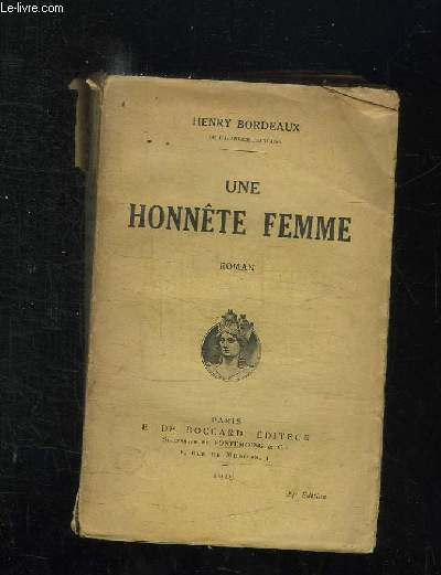 UNE HONNETE FEMME.