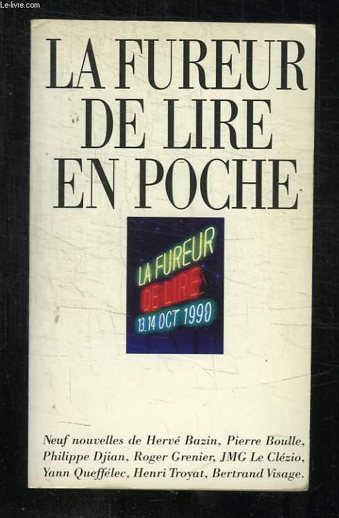 LA FUREUR DE LIRE EN POCHE.