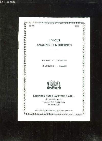 LOT DE 10 CATALOGUES DE LIVRES DE LIBRAIRIE DIFFERENTES.