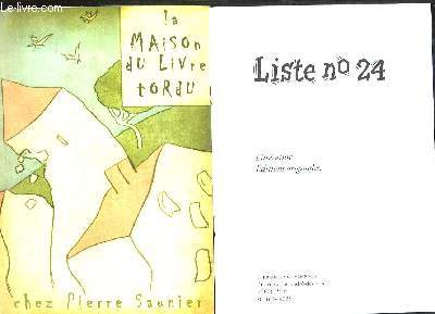 LOT DE 22 CATALOGUES DE LIVRES DE LIBRAIRIES DIFFERENTES.