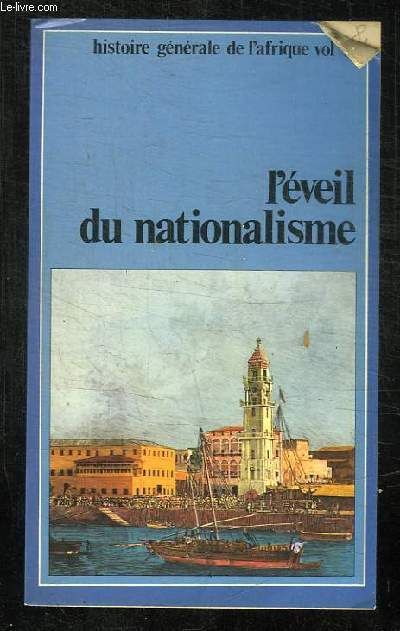 HISTOIRE GENERALE DE L AFRIQUE.