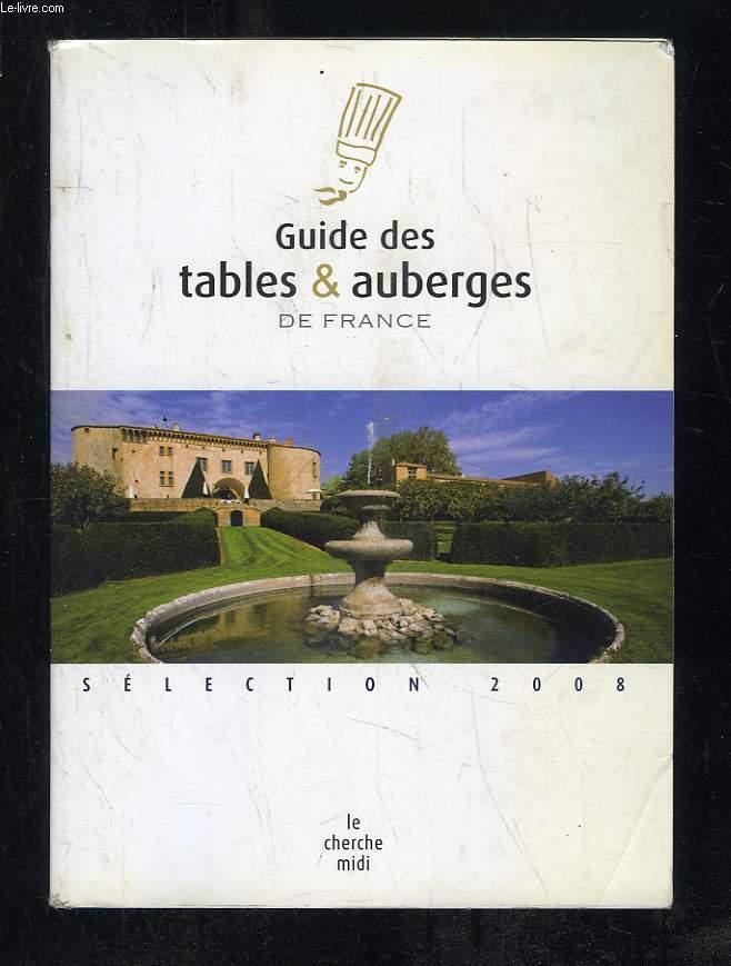 GUIDE DES TABLES ET AUBERGES DE FRANCE.