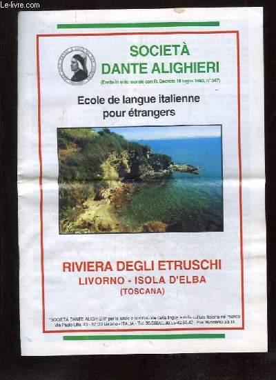 BROCHURE. ECOLE DE LANGUE ITALIENNE POUR ETRANGERS.