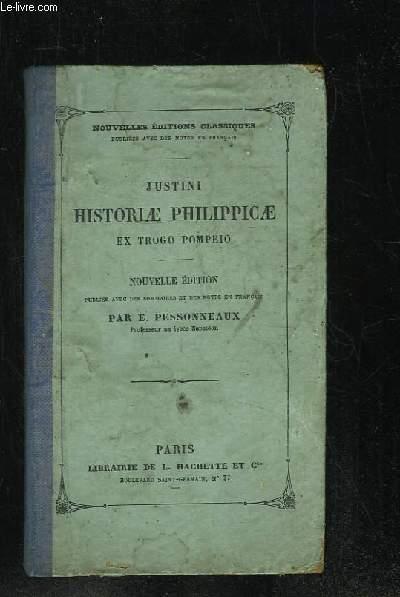 HISTORIAE PHILIPPICAE EX TROGO POMPEIO. NOUVELLE EDITION.