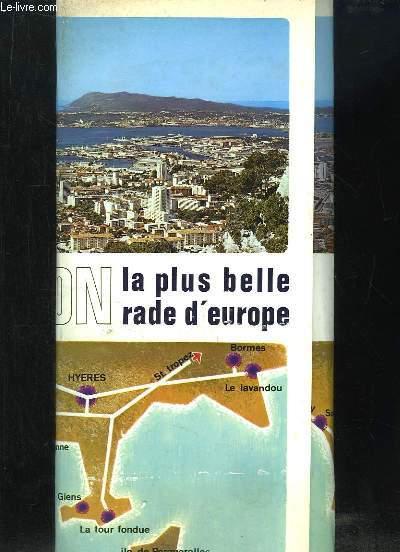 TOULON LA PLUS BELLE RADE D EUROPE. ENSEMBLE DE 7 LIVRETS.