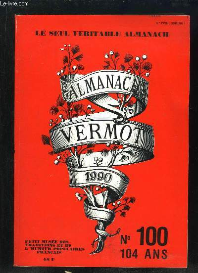 ALMANACH VERMOT 1990. N° 100.