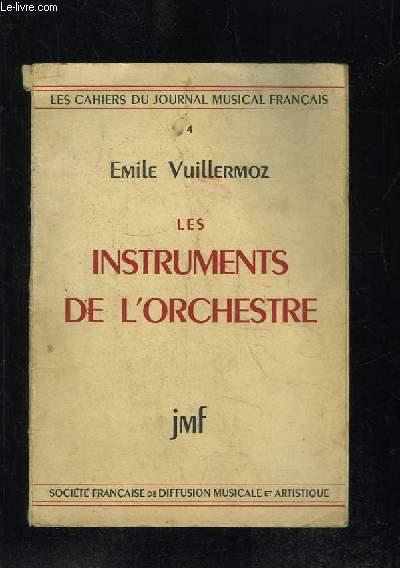 LES INSTRUMENTS DE L ORCHESTRE.