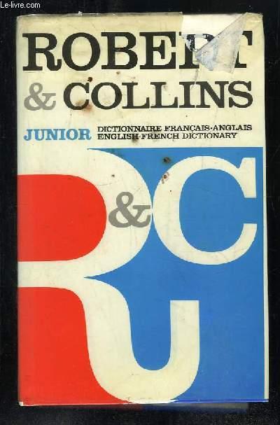ROBERT COLLINS JUNIOR. DICTIONNAIRE FRANCAIS ANGLAIS, ANGLAIS FRANCAIS.