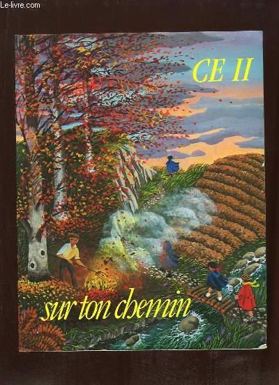 SUR TON CHEMIN POUR UNE CATECHESE EN CE2.
