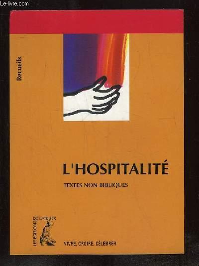 L HOSPITALITE.