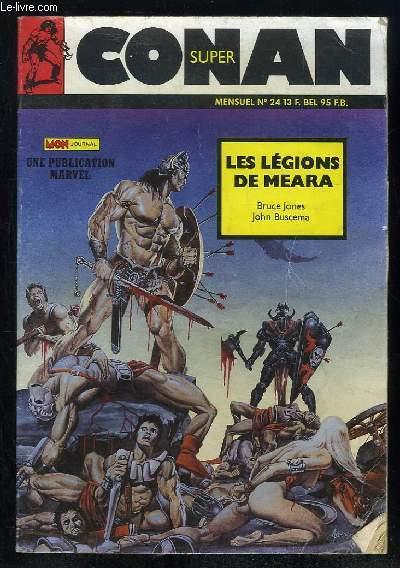 SUPER CONAN N° 24. LES LEGIONS DE MEARA.