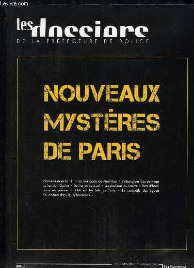 LIAISON N° HORS SERIE. LES DOSSIER DE LA PREFECTURE DE POLICE. NOUVEAUX MYSTERE DE PARIS. SOMMAIRE: QU Y A T IL SOUS LES PIEDS DES PARISIENS, SUR LA PISTE DES CATAPHILES, DROLES D EGOUTS...
