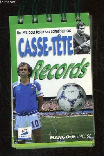 CASSE TETE RECORDS.