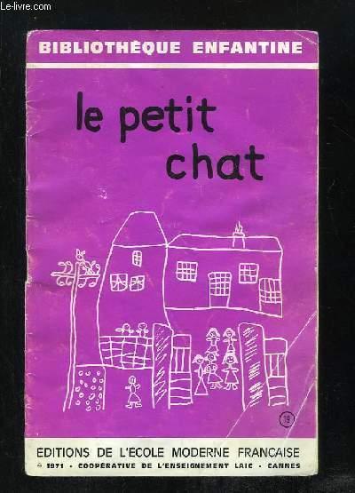 LE PETIT CHAT.