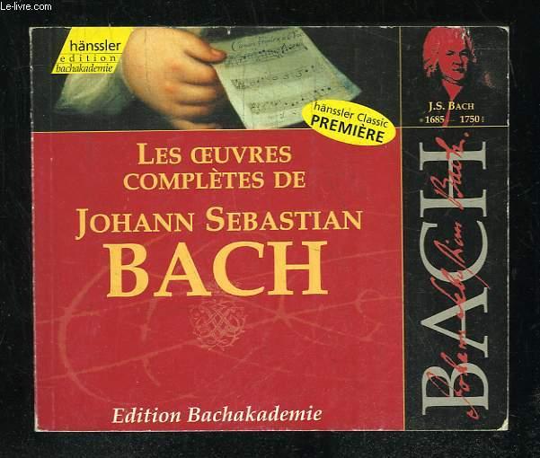 LES OEUVRES COMPLETES DE JOHANN SEBASTIEN BACH.