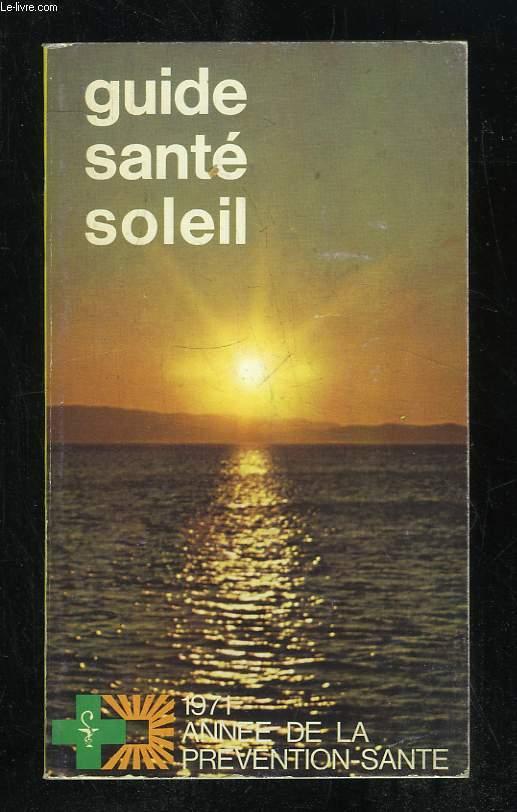 GUIDE SANTE SOLEIL 1971.