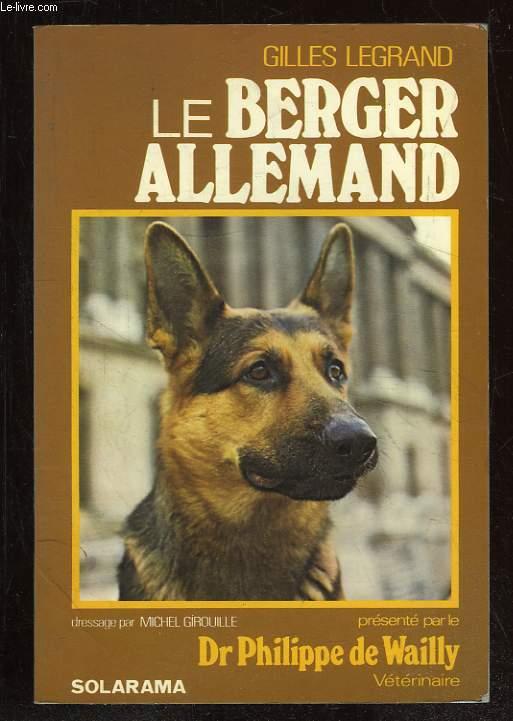 LE BERGER ALLEMAND.