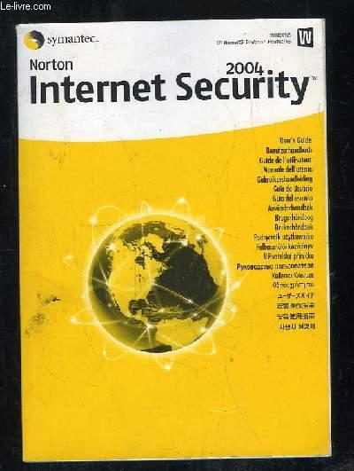 GUIDE DE L UTILISATEUR NORTON INTERNET SECURITY 2004.