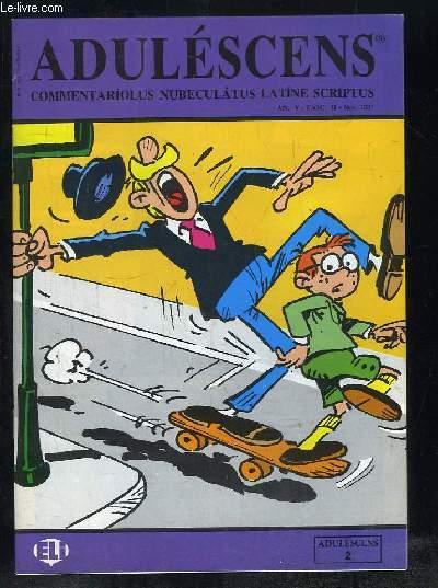 ADULESCENS COMMENTARIOLUS NUBECULATUS LATINE SCRIPTUS N° II NOVELBRE 1987. ANNA COMITESQUE, UNICUIQUE SUUM, VULPES ET CICONIA, NAVES BELLICAE...TEXTE EN ITALIEN.