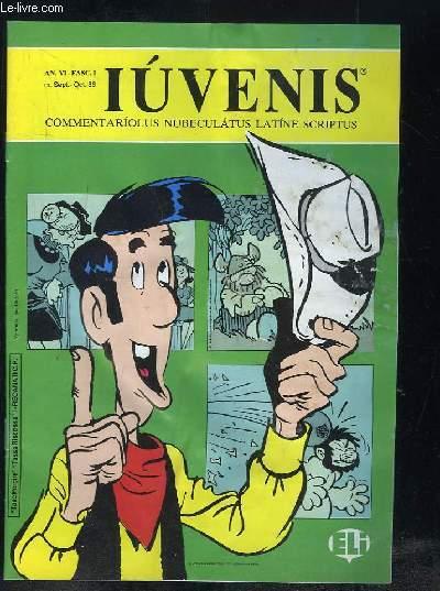 IUVENIS COMMENTARIOLUS NUBELATUS LATINE SCRIPTUS N° I SEPTEMBRE OCTOBRE 1986. LUCAS FELIX DE LAQUEO PATIBULATI...TEXTE EN ITALIEN.