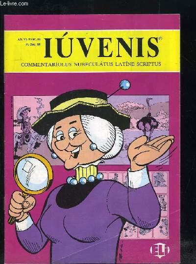 IUVENIS COMMENTARIOLUS NUBELATUS LATINE SCRIPTUS N° II DECEMBRE 1986.  ARACHIDES, LUCAS FELIX IACOBI IRPI AEMULUS...TEXTE EN ITALIEN.