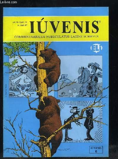 IUVENIS COMMENTARIOLUS NUBELATUS LATINE SCRIPTUS N° VI MARS 1987. ARACHIDES, GUS, EPITULA E GERMANIA ALLATA...TEXTE EN ITALIEN.