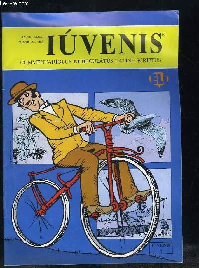 IUVENIS COMMENTARIOLUS NUBELATUS LATINE SCRIPTUS N° I SEPTEMBRE OCTOBRE 1987. LUCAS FELIX DE GAVII SALTATORIS AMORE, GUS, CURSUS PRINCIPES....TEXTE EN ITALIEN.