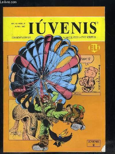 IUVENIS COMMENTARIOLUS NUBELATUS LATINE SCRIPTUS N° II NOVEMBRE 1987. LUCAS FELIX DE GAVII SALTATORIS AMORE, PHRASIM QUAERE, DE PLANTIS CARNIVORIS...TEXTE EN ITALIEN.