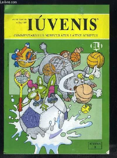 IUVENIS COMMENTARIOLUS NUBELATUS LATINE SCRIPTUS N° III DECEMBRE 1987. LUCAS FELIX CANTIO PISTOLIO MAIORE DUCTA,  DE PILIS FOLLIBUSVE, ARACHIDES, SIBYLLA NDAGATRIX...TEXTE EN ITALIEN.