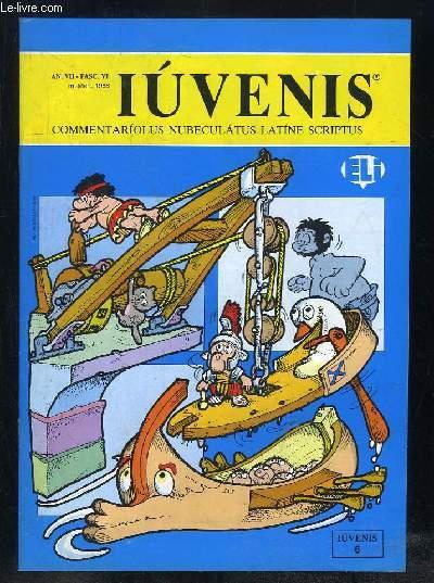 IUVENIS COMMENTARIOLUS NUBELATUS LATINE SCRIPTUS N° VI MARS 1988. LUCAS FELIX, GARFILDUS, ARS MIMETICA SIVE IMITATIONIS, DE CARCHESIO VEL ERGATA... TEXTE EN ITALIEN.