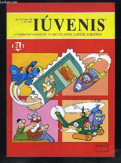 IUVENIS COMMENTARIOLUS NUBELATUS LATINE SCRIPTUS N° VII AVRIL 1988. LUCAS FELIX MAVERICK, GUS PRIMIGENIUS HOMO, ANIMALIA SOMNICULOSA, GARFILDUS, SIBYLLA INSAGATRIX... TEXTE EN ITALIEN.
