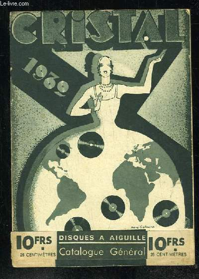 CATALOGUE GENERAL CRISTAL 1932.