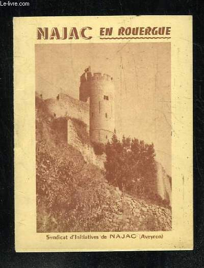 BROCHURE. NAJAC EN ROUERGUE.