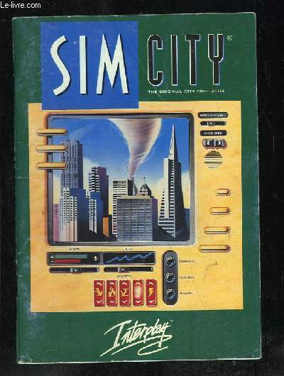 SIM CITY. LE SIMULATEUR DE VILLE ORIGINAL. MANUEL VERSION ENHANCED CD ROM.