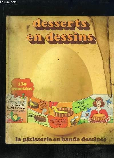 Desserts Et Dessins La Patisserie En Bande Dessinee