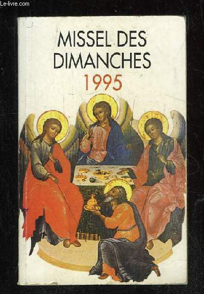 MISSEL DES DIMANCHES 1995.