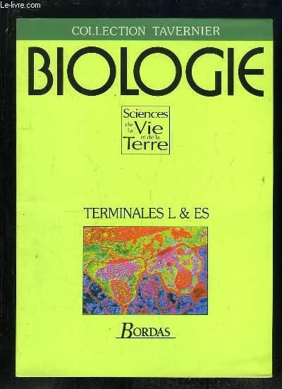 BIOLOGIE TERMINALES L ET ES.