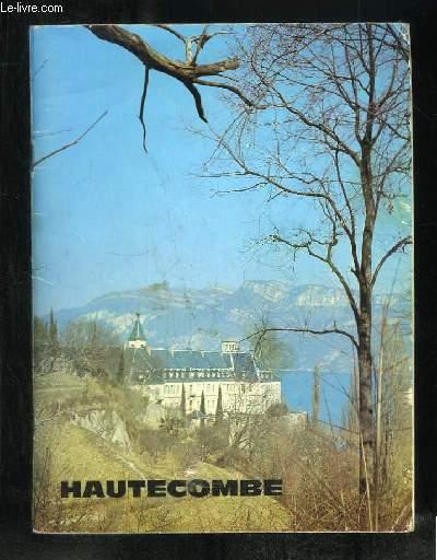 ABBAYE D HAUTECOMBE.