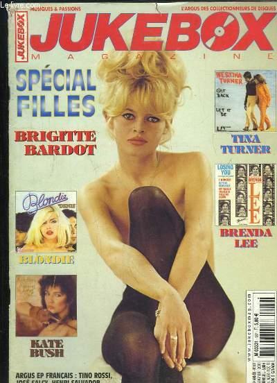 JUKEBOX MAGAZINE N° 187 JANVIER 2003. SOMMAIRE: SPECIAL FILLES, BRIGITTE BARDOT, BLONDIE, KATE BUSH, BRENDA LEE, TINA TURNER...