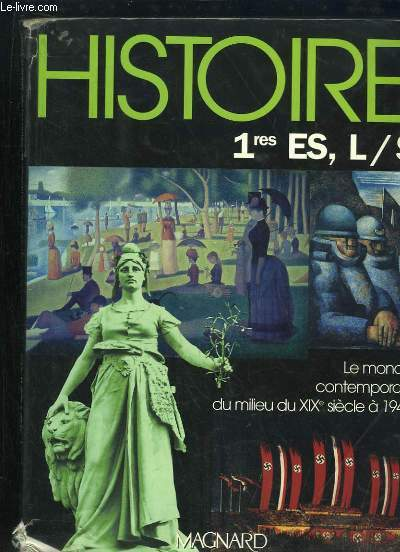 HISTOIRE 1re ES , L ET S.