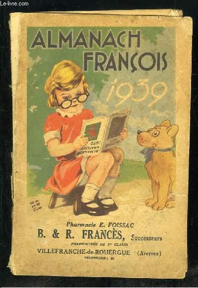 ALMANACH FRANCOIS 1939.
