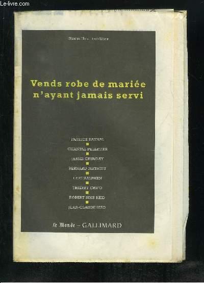 VENDS ROBE DE MARIEE N AYANT JAMAIS SERVI.