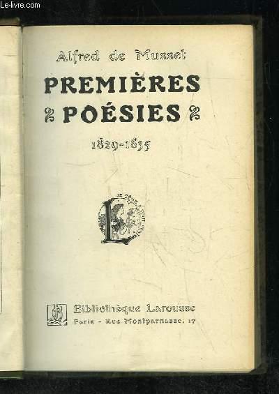 PREMIERE POESIES. 1829 - 1835. + POESIE NOUVELLE 1836 - 1852.