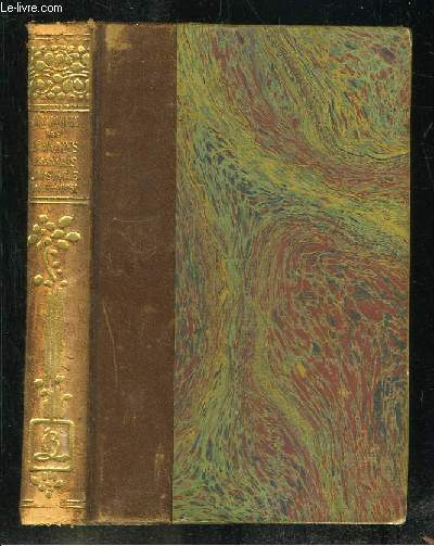 ANTHOLOGIE DES ECRIVAINS FRANCAIS POESIES XVIII SIECLE + PROSE  XVIII SIECLE.